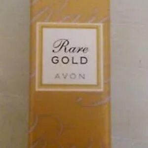 Avon Rare Gold Eau De ParfumTravel Purse Size 0.5
